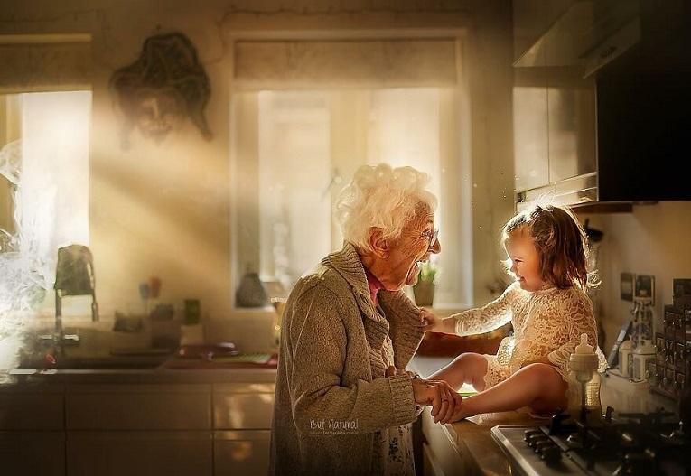 Sujata Setia fotografa britanica registra a beleza da relacao entre avos e netos 20