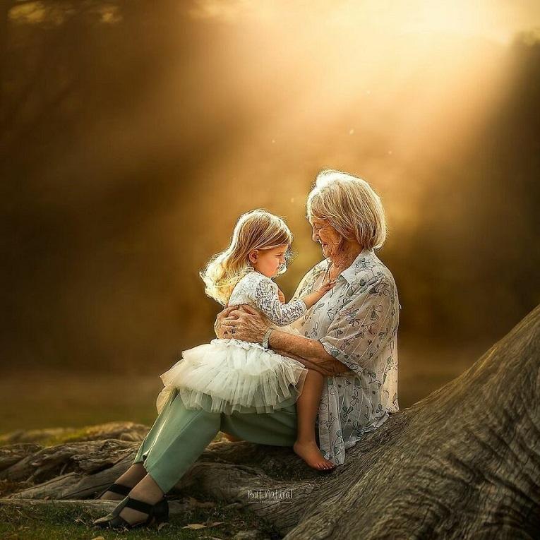 Sujata Setia fotografa britanica registra a beleza da relacao entre avos e netos 21