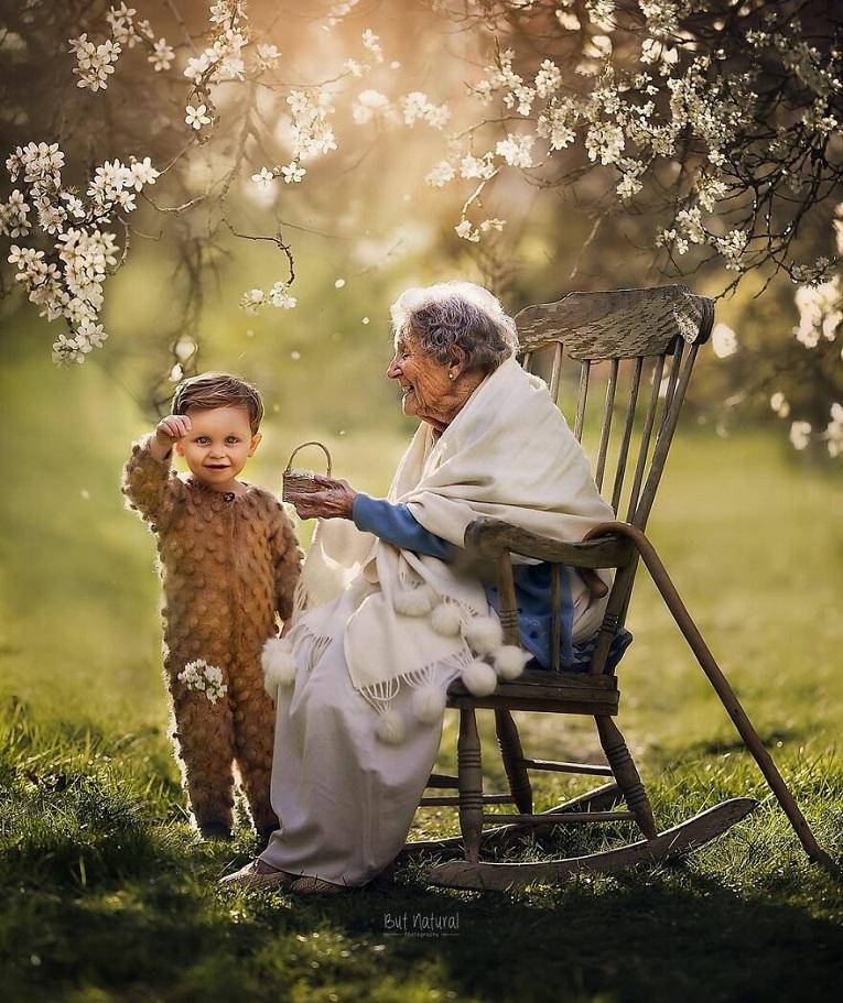 Sujata Setia fotografa britanica registra a beleza da relacao entre avos e netos 22