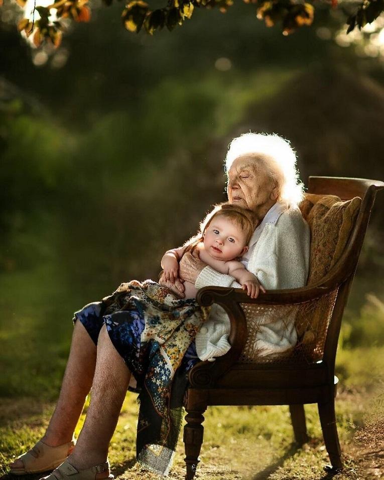 Sujata Setia fotografa britanica registra a beleza da relacao entre avos e netos 23