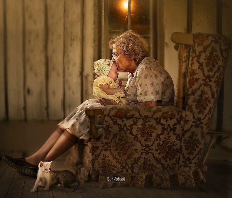 Sujata Setia fotografa britanica registra a beleza da relacao entre avos e netos 24