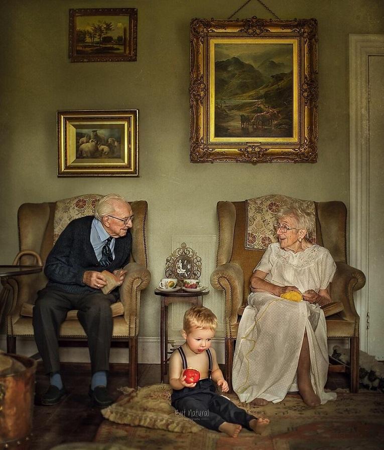 Sujata Setia fotografa britanica registra a beleza da relacao entre avos e netos 25