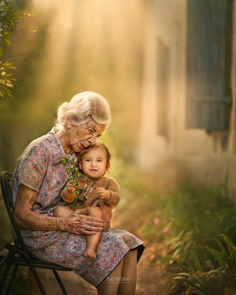 Sujata Setia fotografa britanica registra a beleza da relacao entre avos e netos 26
