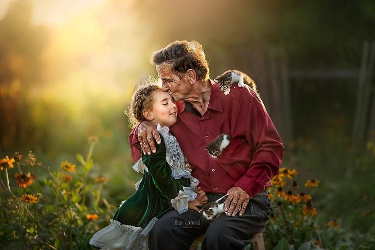Sujata Setia fotografa britanica registra a beleza da relacao entre avos e netos 4