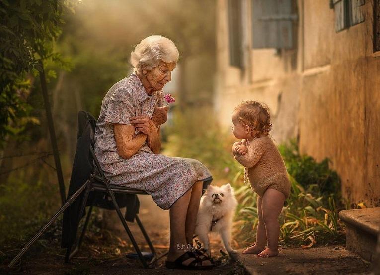 Sujata Setia fotografa britanica registra a beleza da relacao entre avos e netos 5