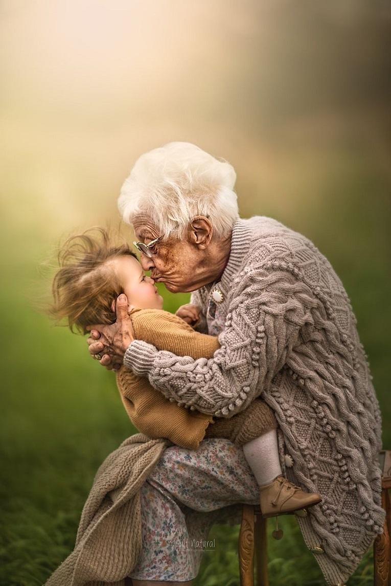Sujata Setia fotografa britanica registra a beleza da relacao entre avos e netos 7