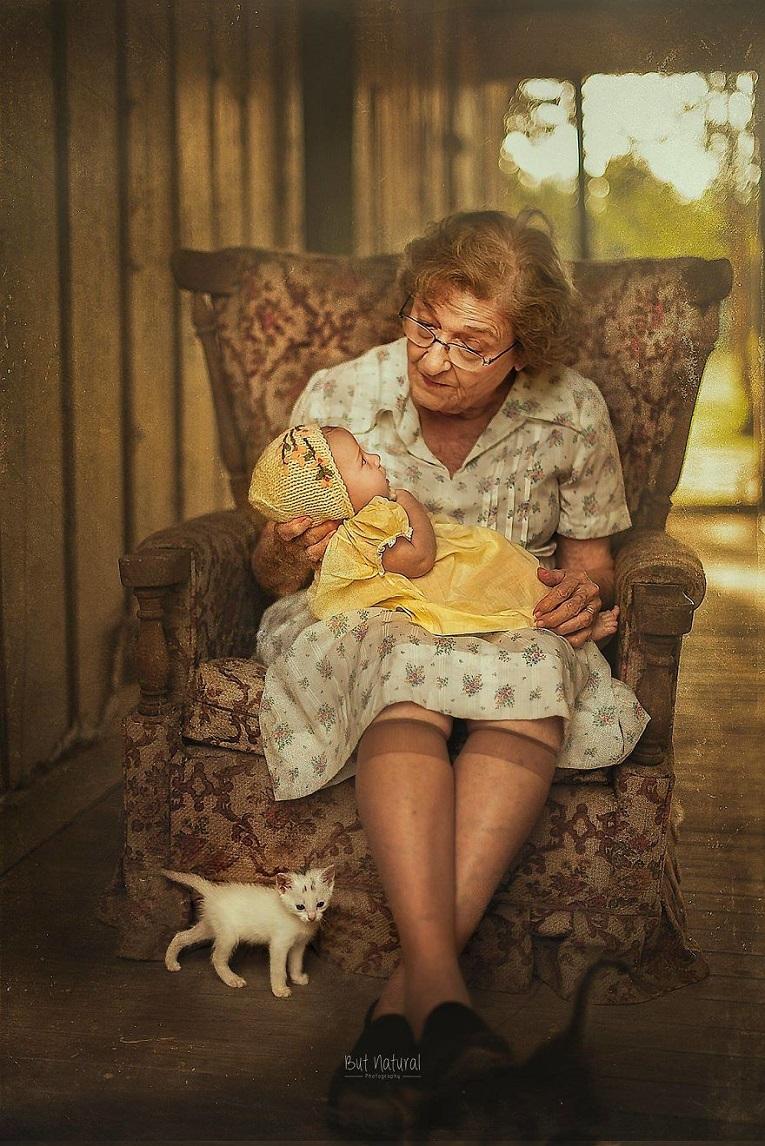 Sujata Setia fotografa britanica registra a beleza da relacao entre avos e netos 8