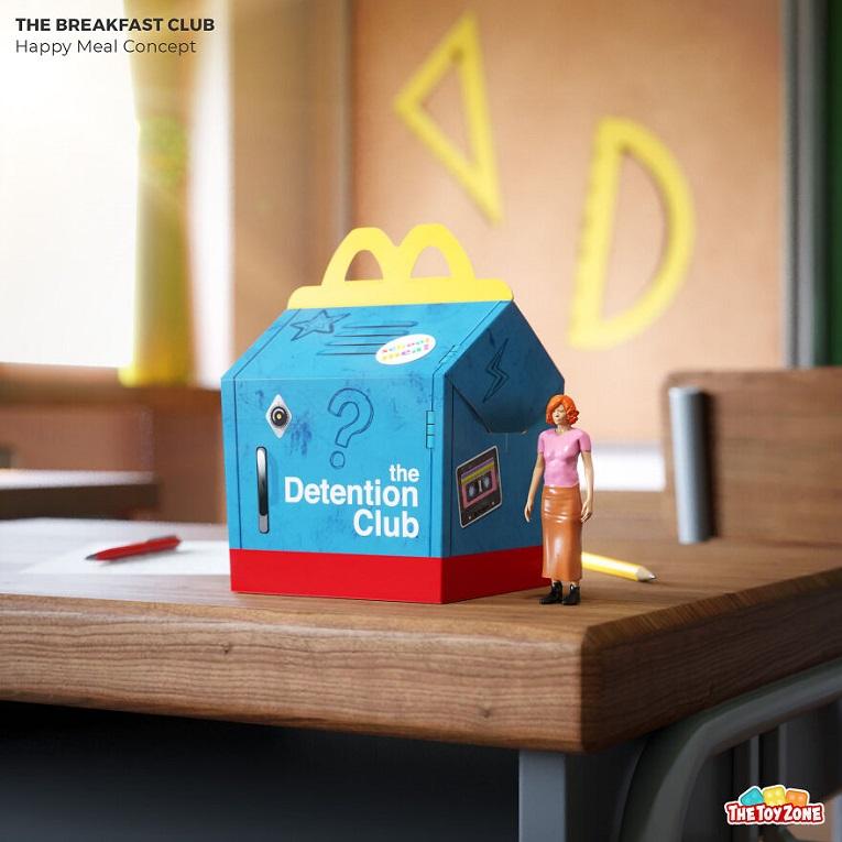 The Toy Zone empresa cria McLanche Feliz inspirado em filmes dos anos 80 4
