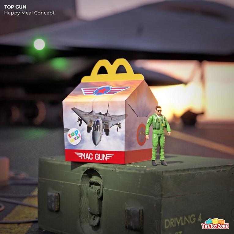 The Toy Zone empresa cria McLanche Feliz inspirado em filmes dos anos 80 7