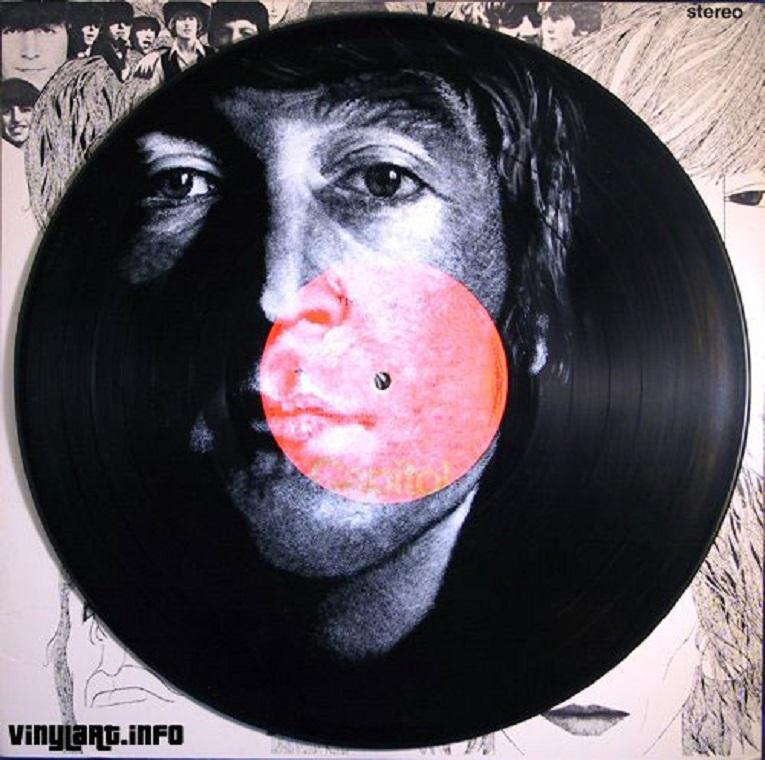 Daniel Edlen artista pinta musicos em discos de vinil 24