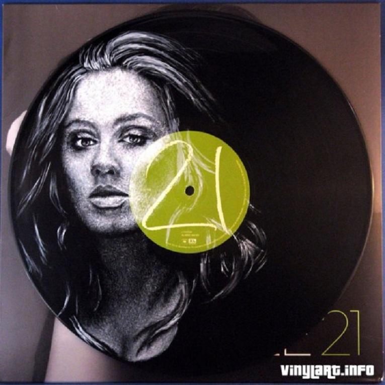 Daniel Edlen artista pinta musicos em discos de vinil 4