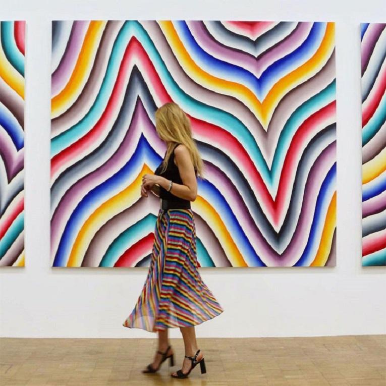 Roupas e pinturas identicas em galerias de arte 26