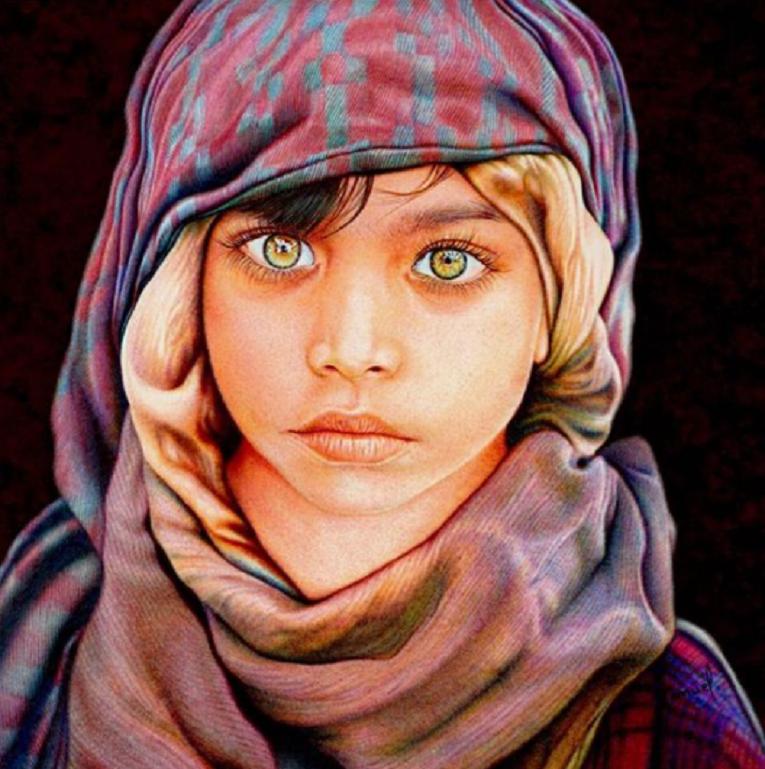 Samuel Silva artista cria retratos hiperrealistas com caneta esferografica 9